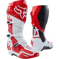 Мотоботы Fox Instinct Boot White/Red 9 (12252-077-9)